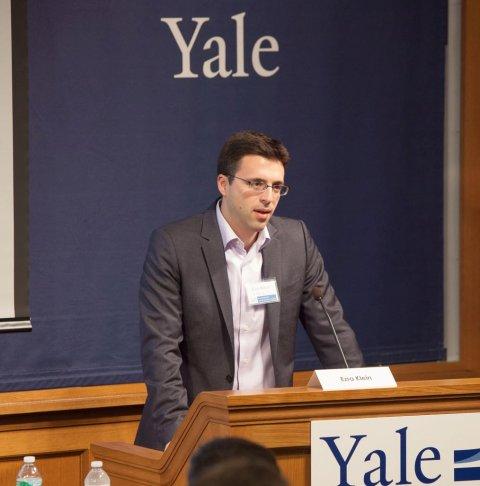 Ezra Klein at ISPS/Yale