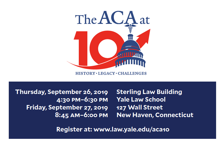Event on Sept. 26-27 on ACA
