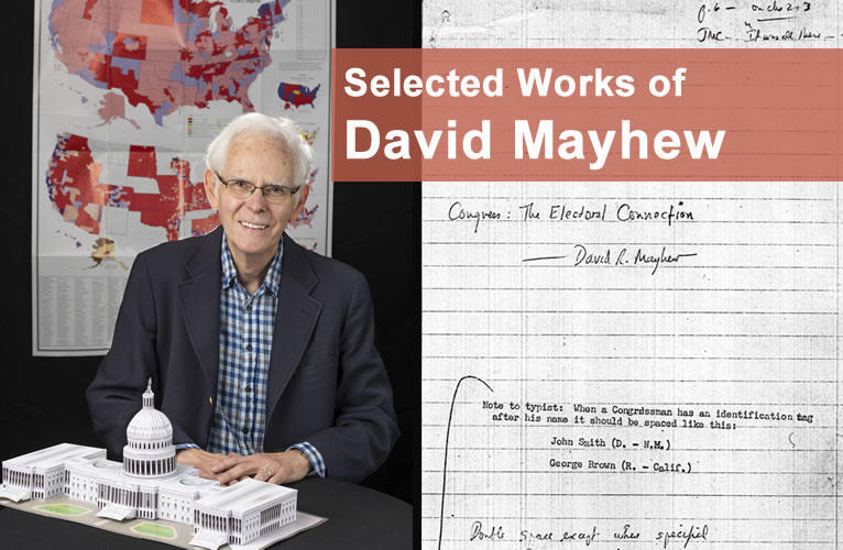 Online compilation of his research of David Mayhew's research