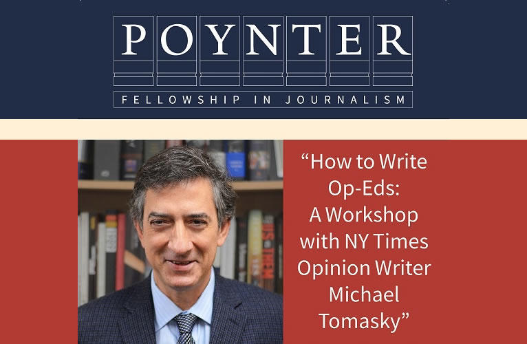 Michael Tomasky on Op-Ed writing