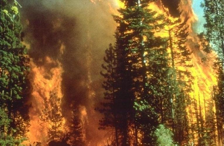 Fires ablaze in California