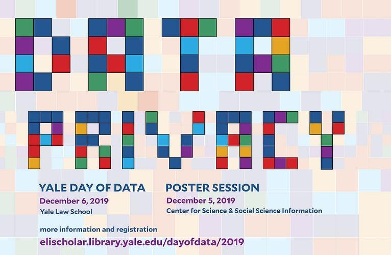 Poster for Yale Day of Data on Privacy
