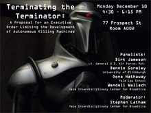 Tech & Ethics: Terminating the Terminator